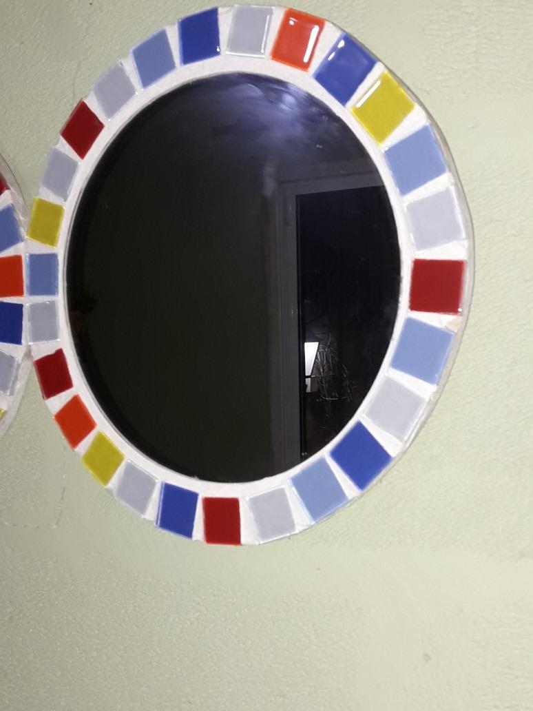 Espejo Doble Círculo Marco Tipo Venecita Oferta - $ 1.200,00 en ...
