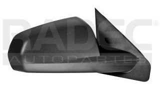 espejo dodge avenger 2008-2009-2010 elec corrugado negro