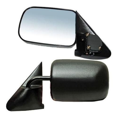 espejo dodge pick up 94-95-96-97 ram negro derecho