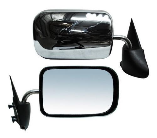 espejo dodge ram 1994-1995-1996-1997 manual cromado