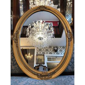 Espejo Dorado Diseño Antiguo Producto Nuevo.