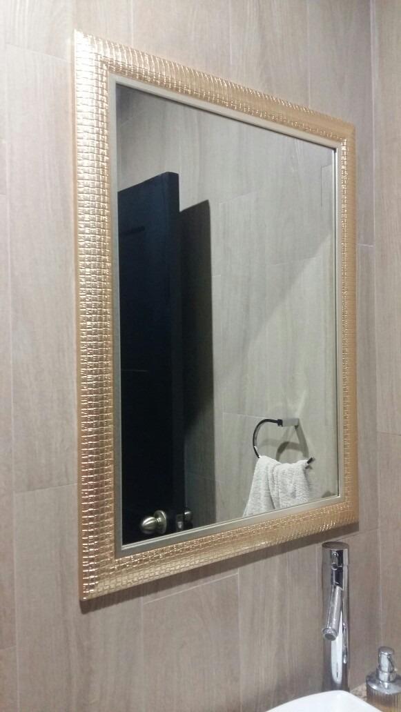 espejo dorado sala dormitorio ba o 60 x 80 u s 155 00 en