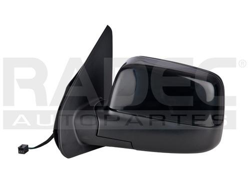 espejo  ecosport 04-10 electrico liso/corrugado negro izq