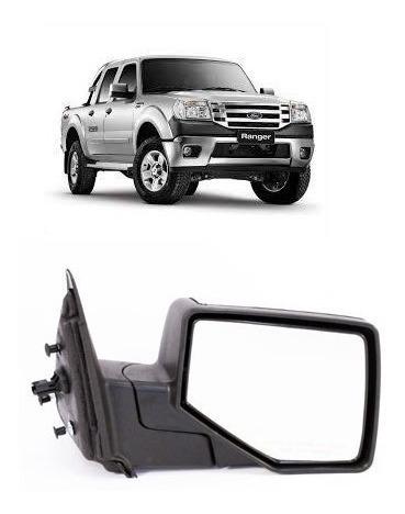 espejo  electrico cromado ford ranger argentina 2010 al 2012