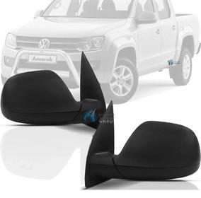Tapa de espejo negro derecho para VW Amarok 10