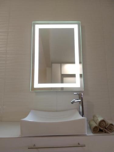 espejo electrónico con luz led integrada de 60x86cm