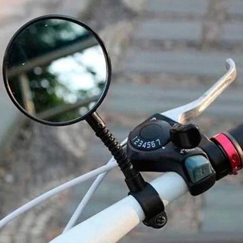 espejo flexible retrovisor para bicicleta