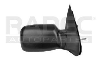 espejo ford courier 2010-2011-2012 c/control corrugado negro