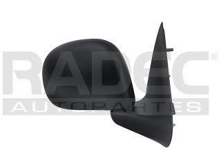 espejo ford f-250 2009 manual t/bandera negro
