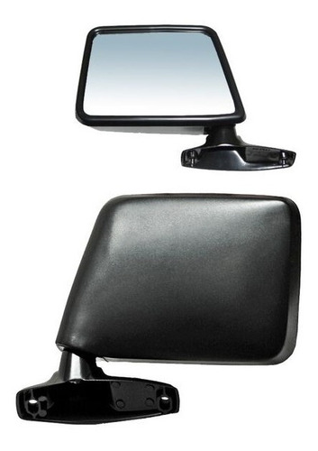 espejo ford ranger 83-84-85-86-87-88-89-90 negro derecho