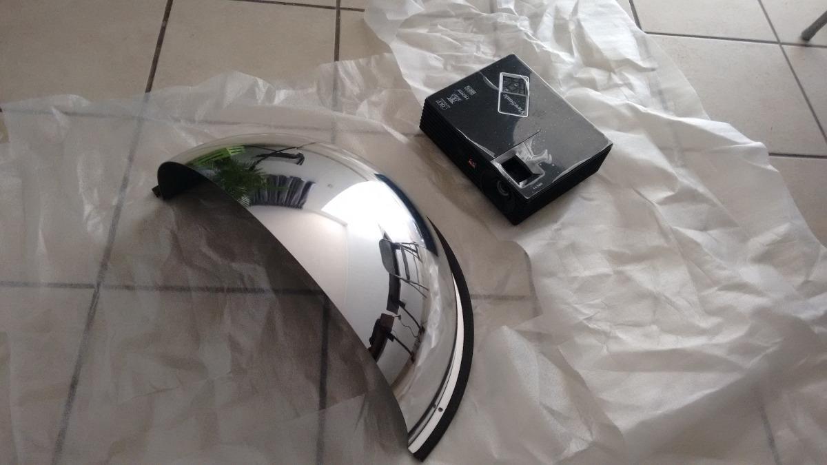 Espejo full dome ojo de pez para planetario domos moviles for Espejo ojo de pescado