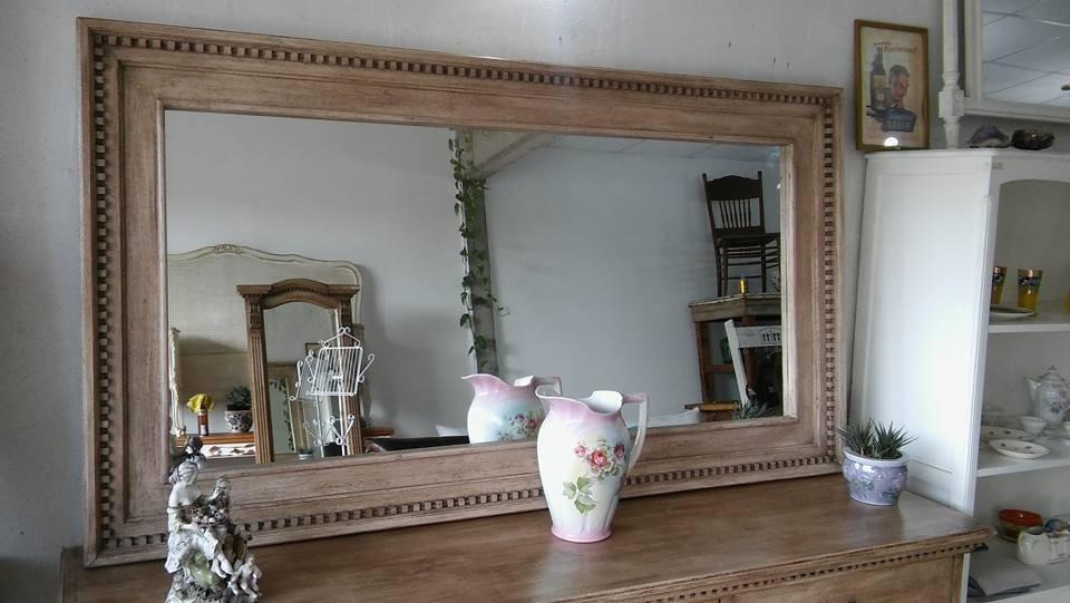 Espejo Gran Marco Restoration Hardware Comedor Baño Vestidor ...