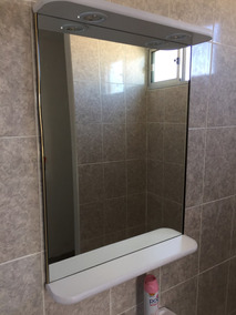 Espejos Para Bano Con Luz.Espejo Grande Con Luces Para Bano Living O Dormitorio