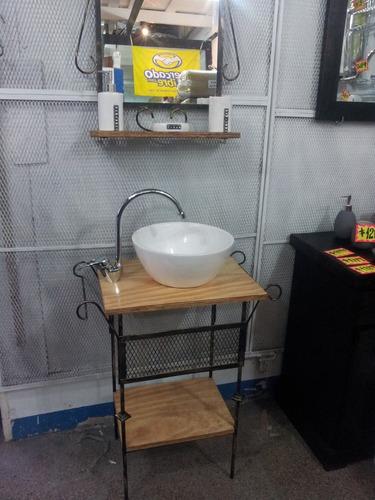 espejo hierro vintage colonial  living comedor baño oferta!!