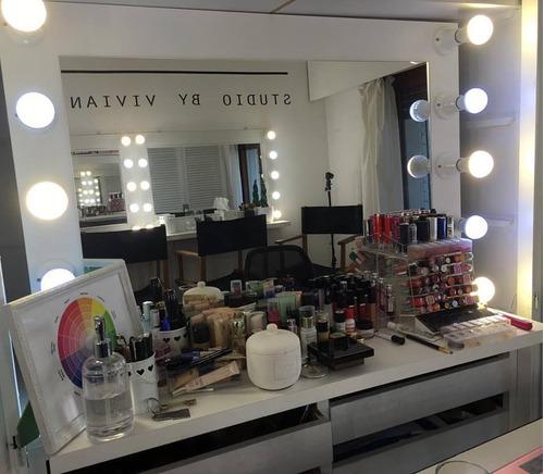 espejo hollywood! maquillajepeluquería 60 x 40