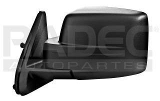 espejo jeep patriot2007-2008-2009-2010-2011-2012manual negro