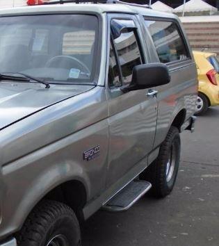 espejo lateral retrovisor ford bronco negro manual c/u nuevo