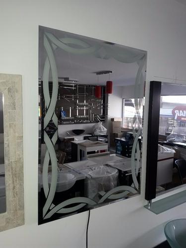espejo led de diseño exclusivo 80 x 60 cm - lomas de zamora