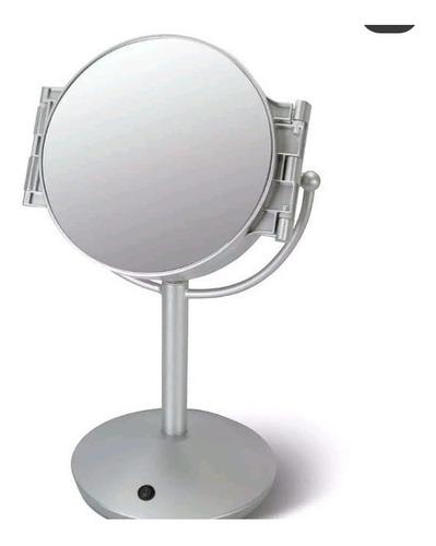 espejo led profesional de todos los ángulos para maquillaje.