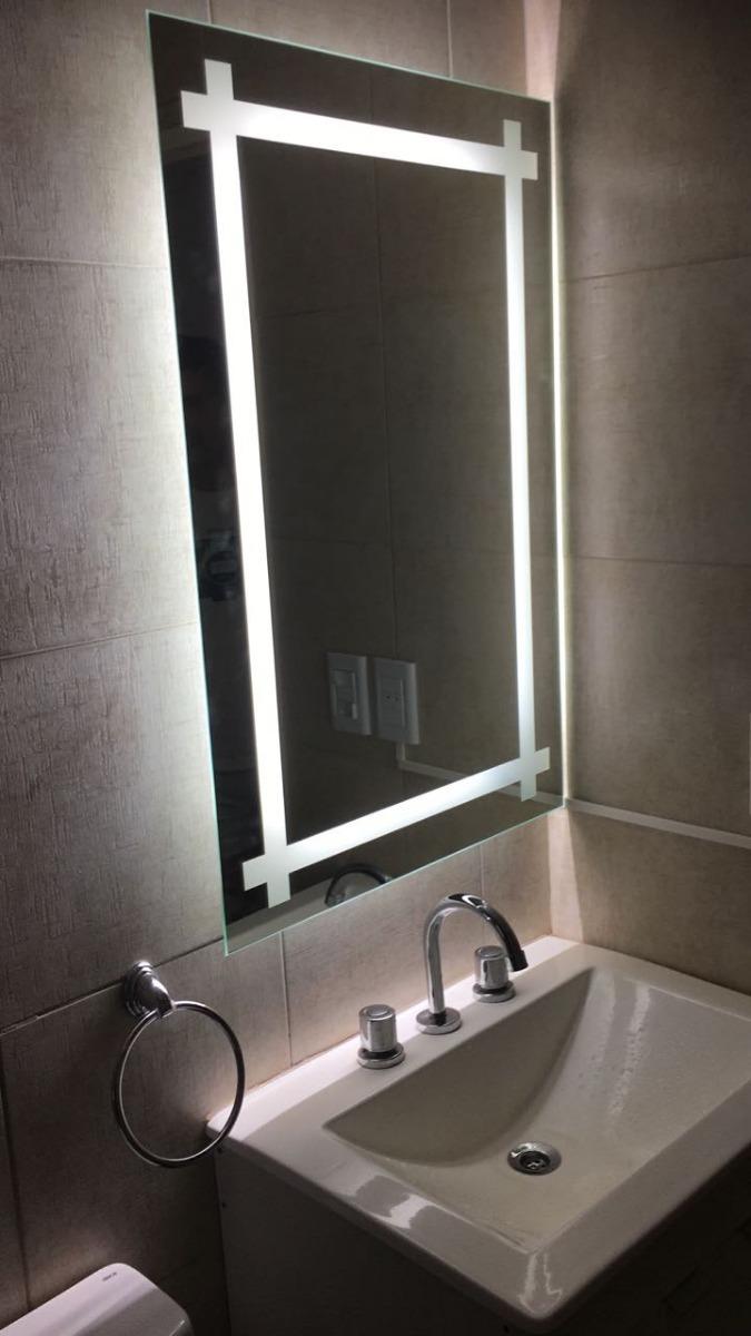 Espejos Para Bano Con Luz.Espejo Leddeco Para Bano Con Luz Led Guarda Cruzada 8 480 00 En