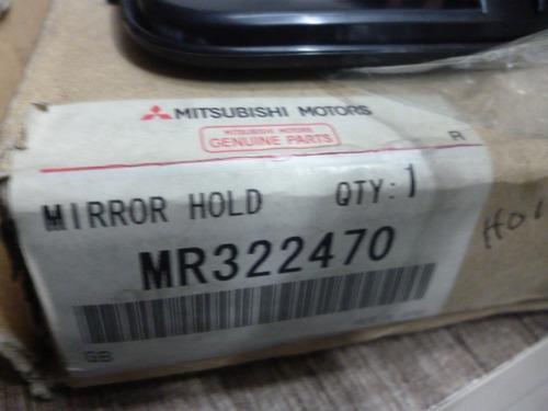 espejo luna retrovisor rh mitsubishi mirage lancer 97