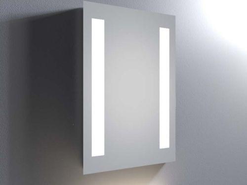 Espejo luz led con 2 barras 4 en mercado libre for Iluminacion para espejos