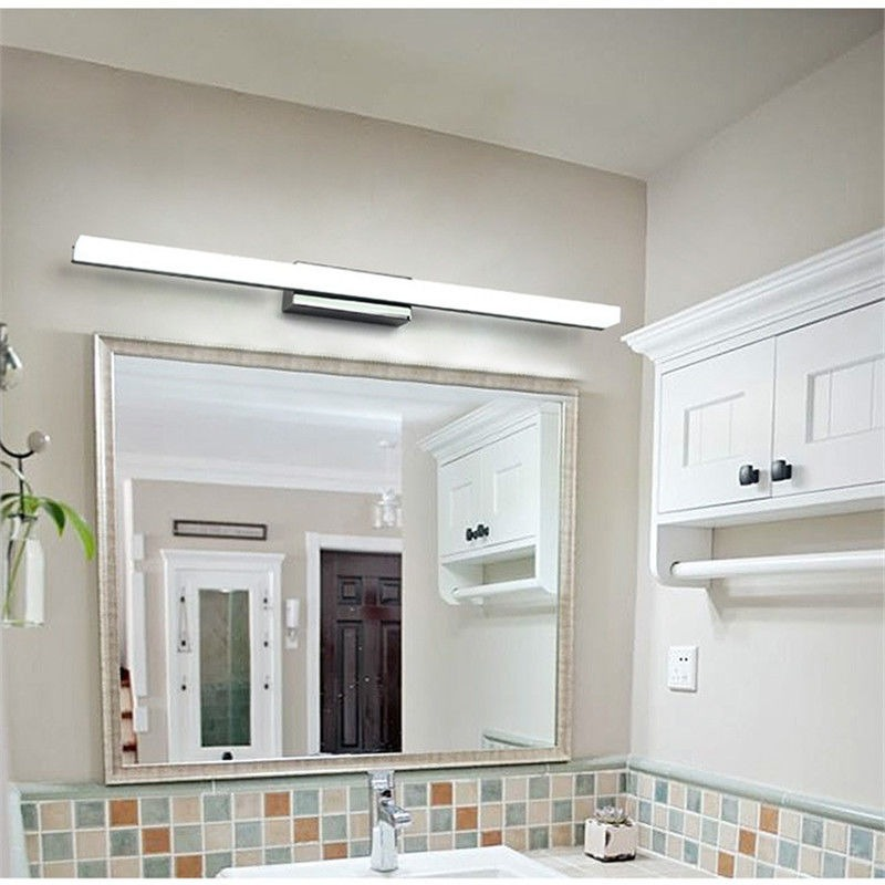 Espejo Luz Led Delantera Moderno Cuarto De Baño Tocador - $ 527.990 ...