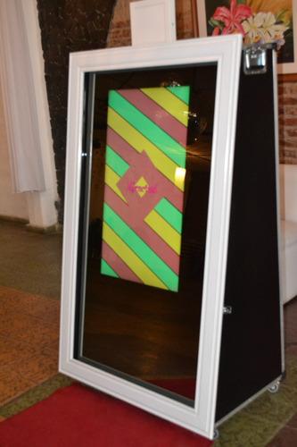 espejo mágico cabina de fotos