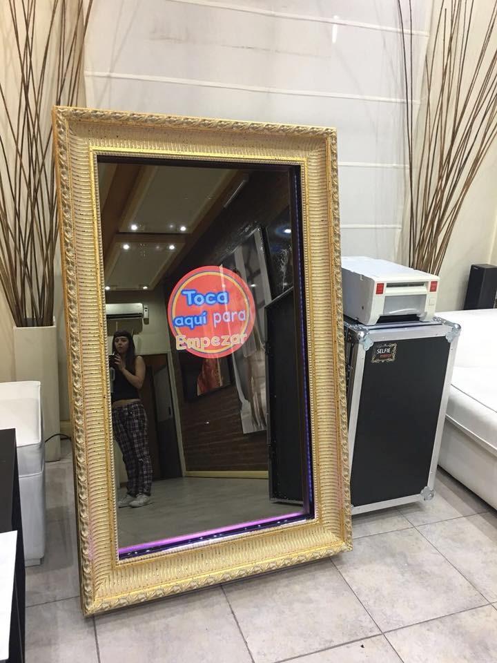 Espejo Magico Selfie Mirror Foto Cabina Fabricacion - Venta ...