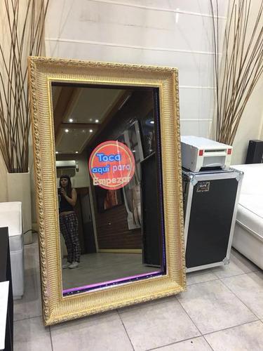espejo magico selfie mirror foto cabina fabricacion - venta