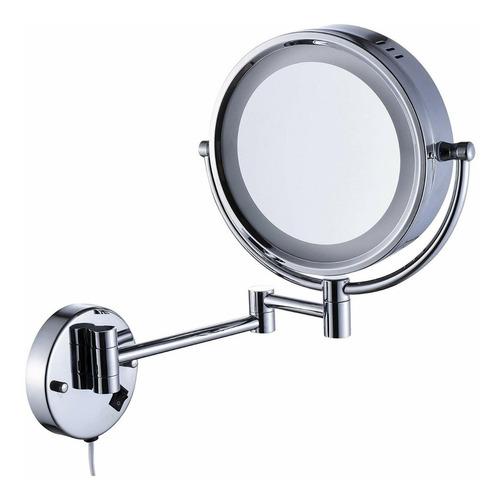 espejo maquillaje cavoli, para baño luz led, pared 3300103