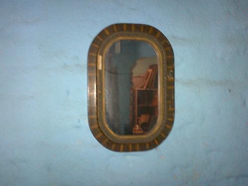 espejo marco 60x40cm madera decorado tal cual foto