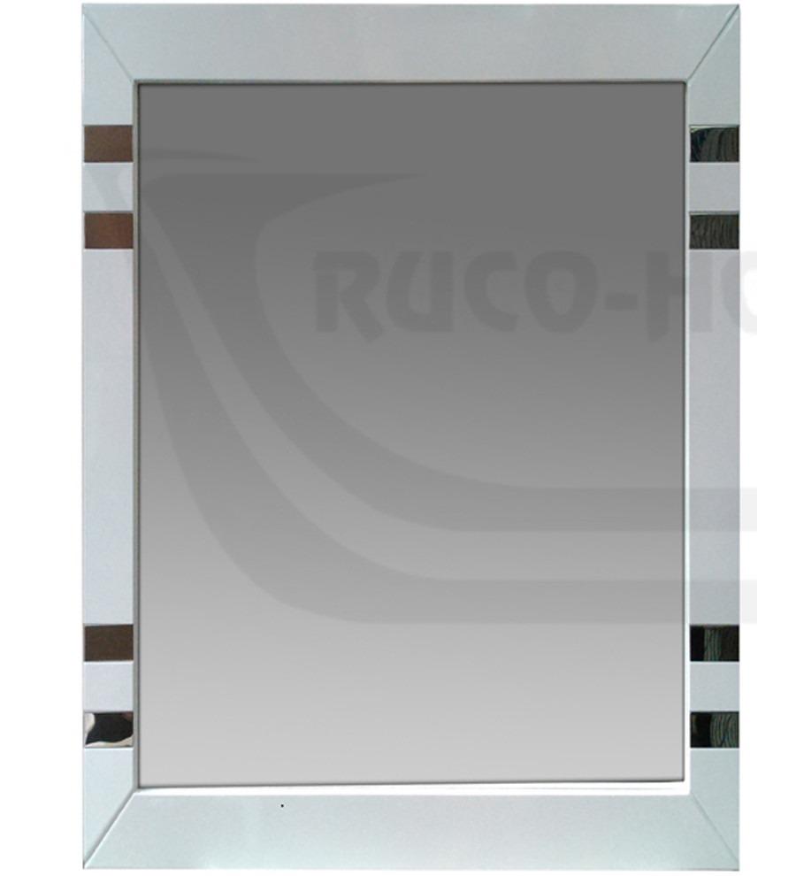 Espejo Marco 60x70 Madera Blanco Wengue Baño Living Decorac - $ 829 ...