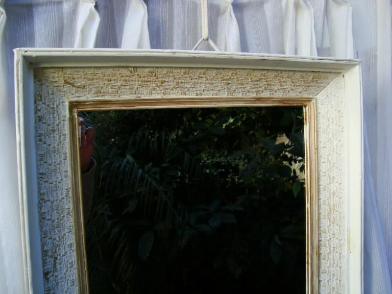 Espejo Marco Antiguo Shabby Chic Cuotas - $ 646,80 en Mercado Libre