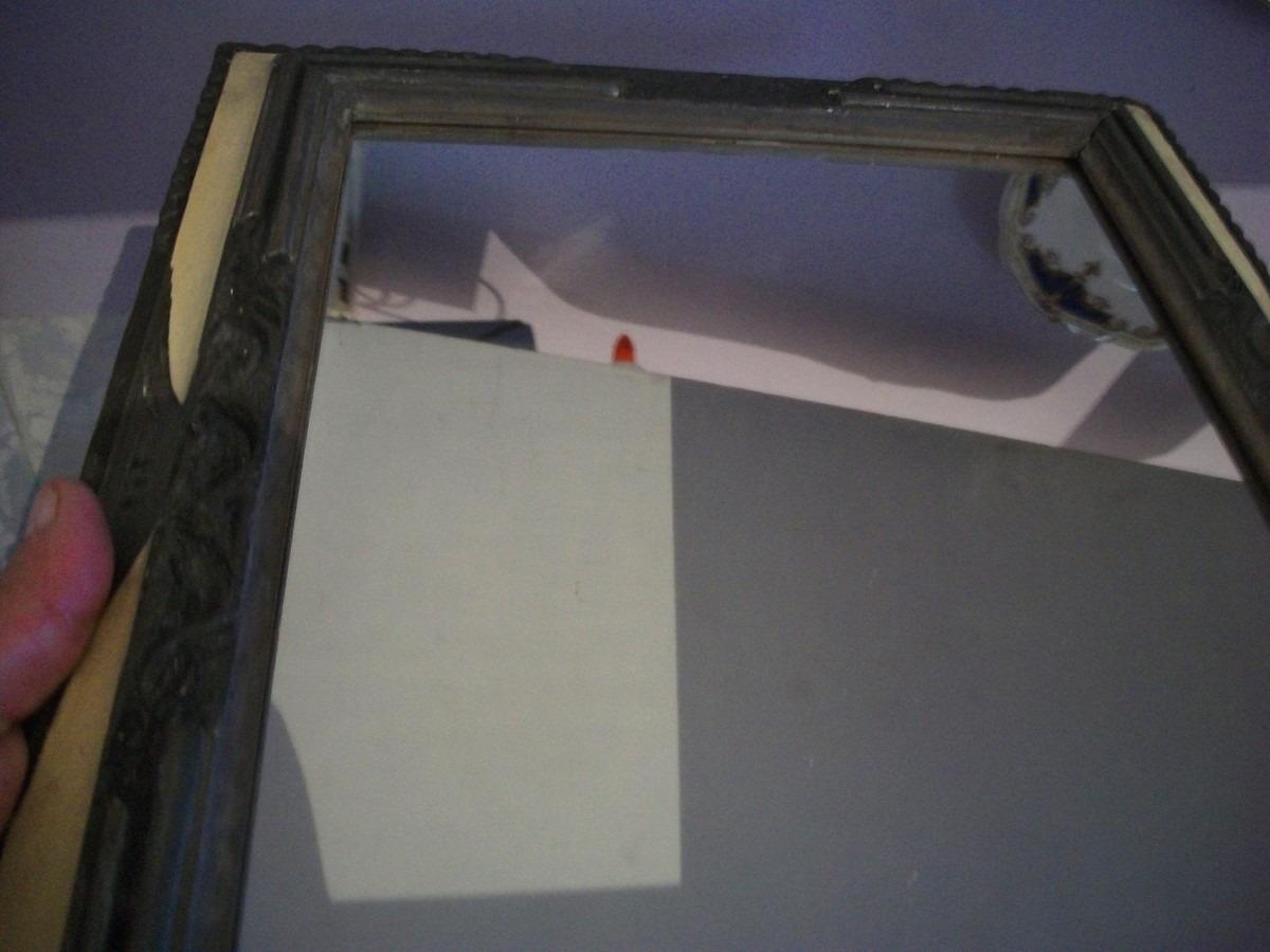 Espejo marco antiguo madera impecable estado 990 00 en - Espejos marco madera ...