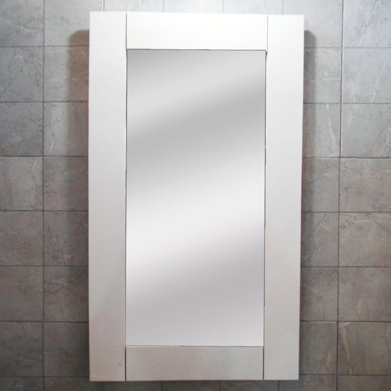 Espejo Marco Madera Blanco 40x70 Decoración Habitación Baño - $ 699 ...