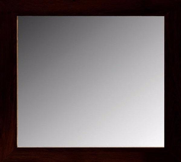 Espejo Marco Madera Color Elección 0,80 X 0,80 M (7cm) - $ 2.495,90 ...