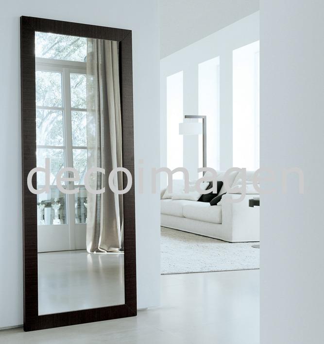 espejo marco madera kir x m color a eleccin