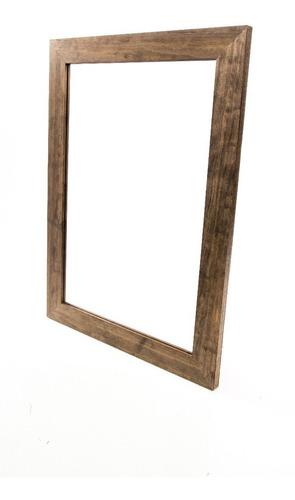 espejo marco madera living comedor baño habitacion oferta
