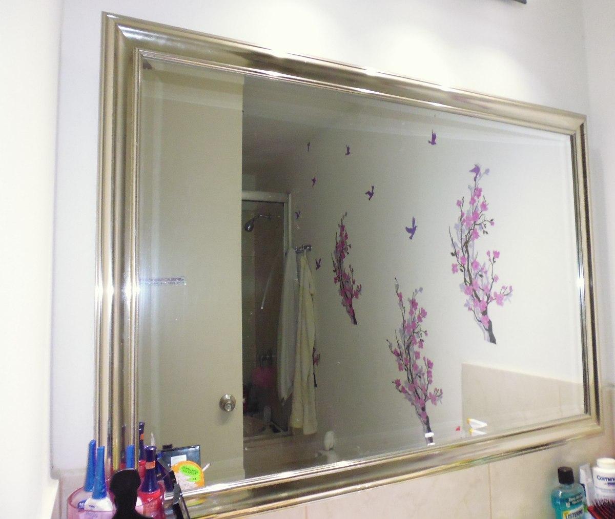 Espejo Marco Plateado De 108 De Largo78 De Anchonuevo S 20500