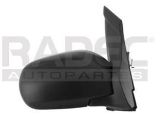 espejo mazda mpv 2000-2001-2002-2003-2004-2005 manual negro