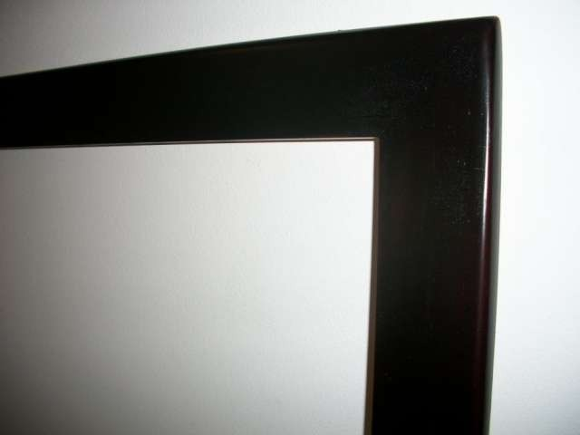 Espejo minimalista con marco de madera s 185 00 en for Espejos minimalistas