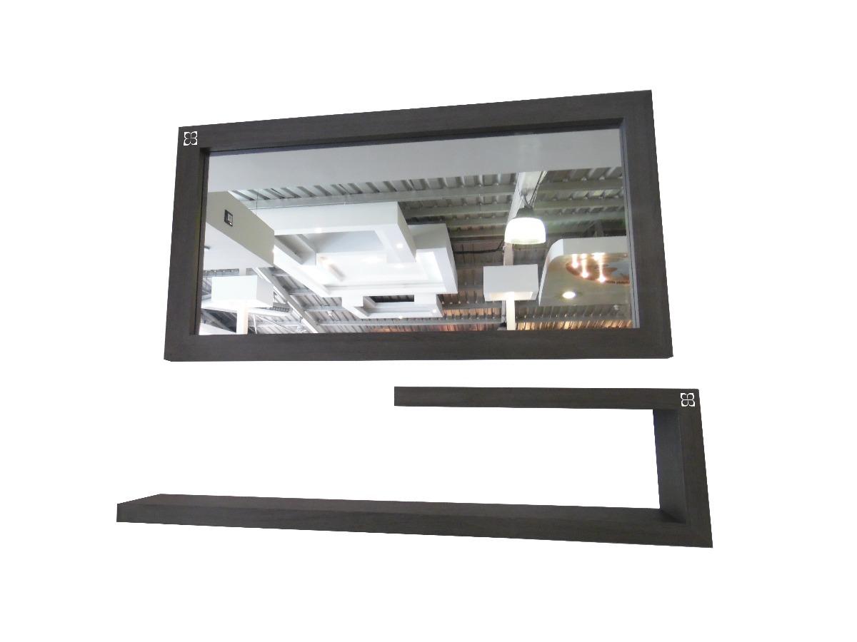 Espejo Moderno Con Consola Umberto Capozzi Para Ba O Bs 51 071  # Muebles Umberto Capozzi