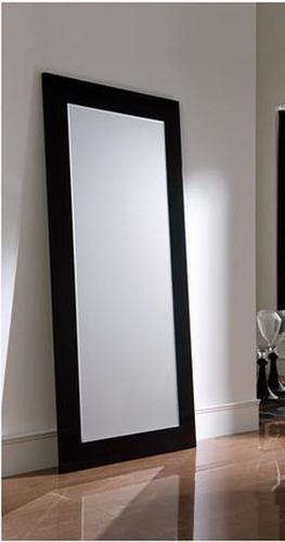 espejo moderno marco melamina / envios / instalación