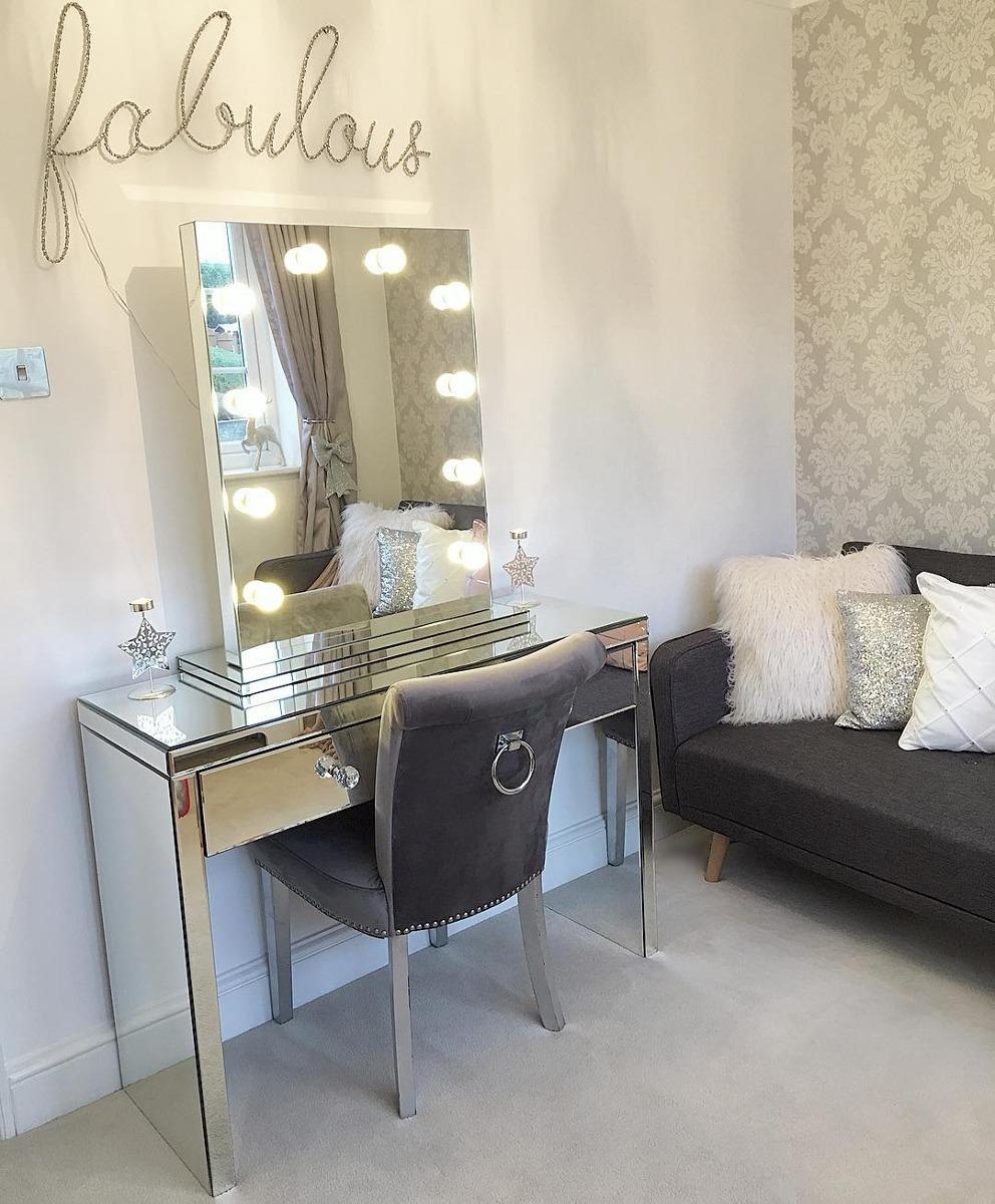 Espejo Mueble Camerin Para Maquillaje Hollywood 18 750 00 En  # Muebles Hollywood