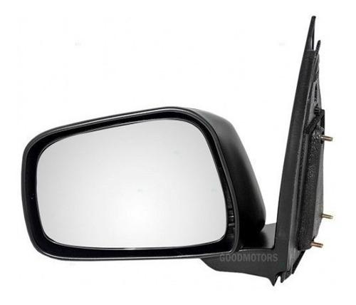 espejo negro manual nissan navara 2008 - 2015 izquierdo pilo
