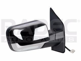 espejo nissan armada 04-11 electrico c/desempañante cromado