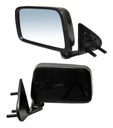 espejo nissan d21 1994-1995-1996-1997-1998-1999 manual negro