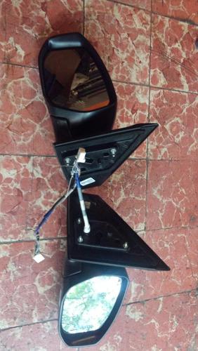 espejo nissan sentra con luz direccional electrico original.