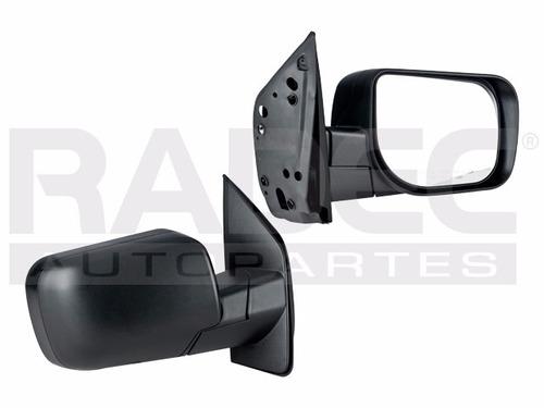 espejo nissan titan 2004-2011 manual corrugado negro der